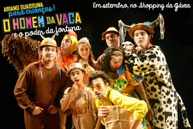 O HOMEM DA VACA E O PODER DA FORTUNA_logo