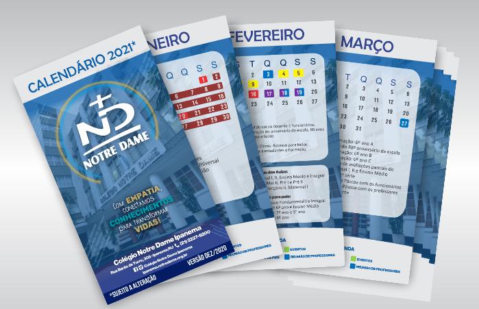 Calendario 2021 destak640